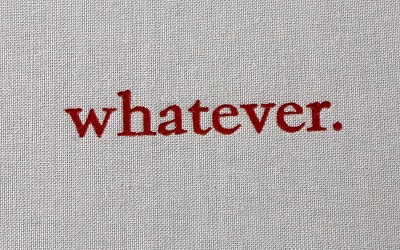 whatever buchcover detail